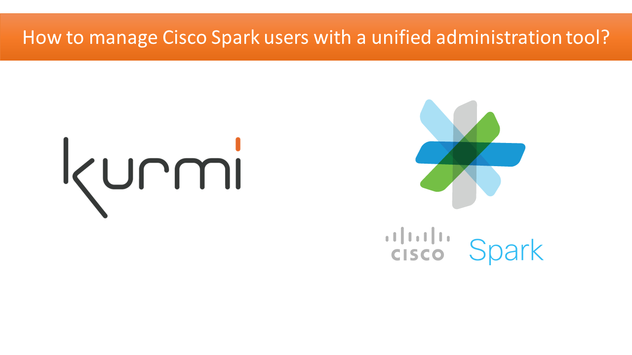 Cisco Spark: User & Room Management with Kurmi Unified Provisioning & Selfcare