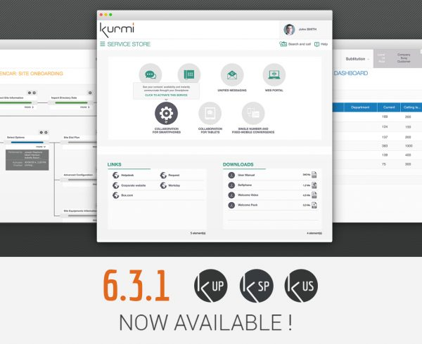 Kurmi Software announced the new 6.3.1 release of its flagship Kurmi Software Suite.
