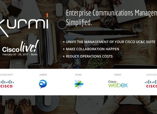 Kurmi CiscoLive in Berlin, 20 – 24 Février