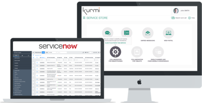 ServiceNow integration with Unified Communications