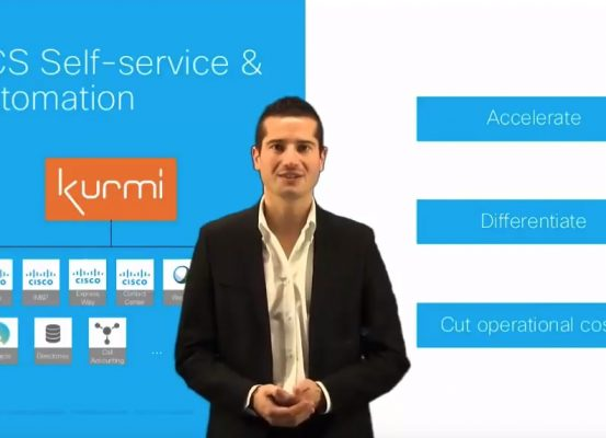 Cisco HCS Self-service Automation by Kurmi Software