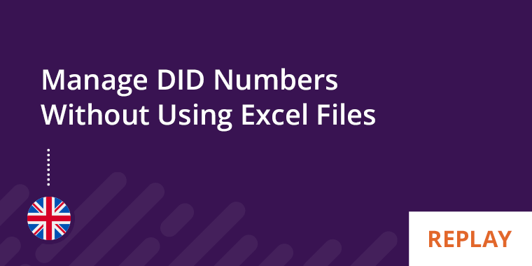 Kurmi Webinar - Manage DID Numbers Without Using Excel Files