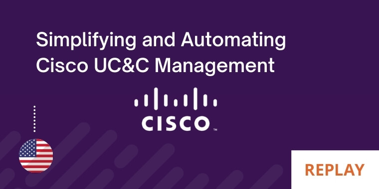 How to provision Cisco UC&C in Seconds