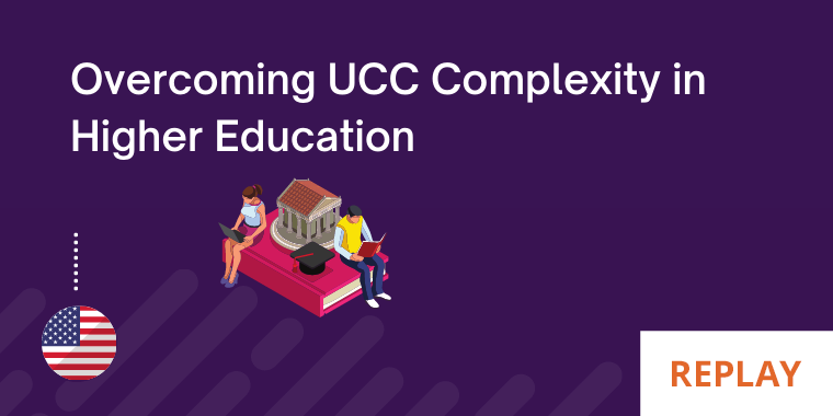 Overcoming UCC complexity in higher education